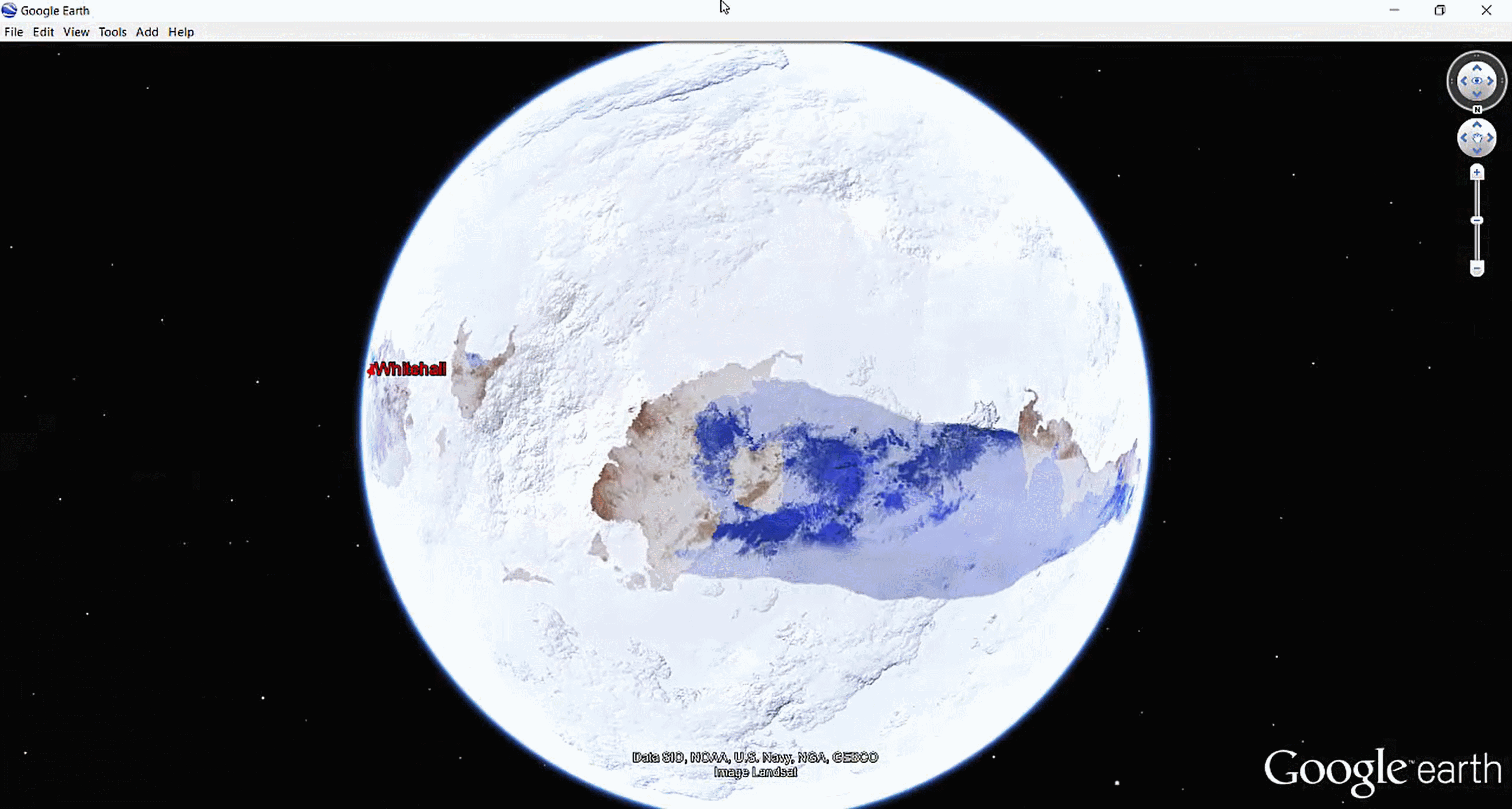 Google Earth Planet Map